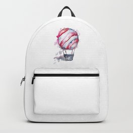 Hot Air Balloon and Clouds Backpack
