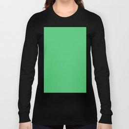 Emerald Green Long Sleeve T-shirt