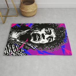 Jimi Hendrix Pop-Art (Purple Haze) Rug