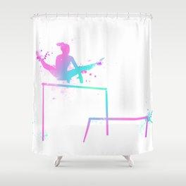 Gymnast - Bars Shower Curtain