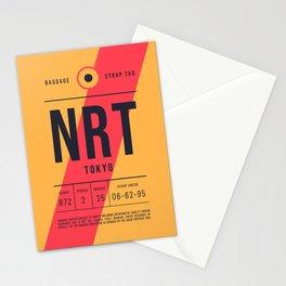 Baggage Tag E - NRT Tokyo Narita Japan Stationery Cards