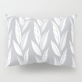 Eternity in Silver Leaf Pillow Sham