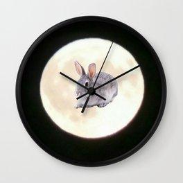 Moonrabbit 5 Wall Clock