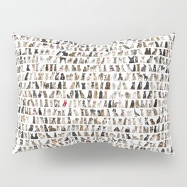 Dogs, cats, rats and rabbits Pillow Sham