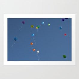 Angel's Birthday Art Print