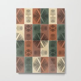 Mudcloth Tiles 03 #society6 #pattern Metal Print