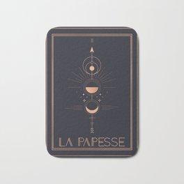 La Papesse or The High Priestess Tarot Bath Mat