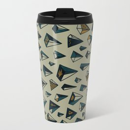 Triangles Are My Favorite Shape Travel Mug