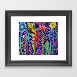 in the migthy jungle Framed Art Print