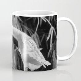 Flamingos (Black and White) Coffee Mug