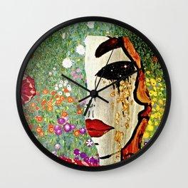 Klimt Remix Wall Clock