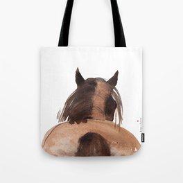 Horse (Mane&tail) Tote Bag