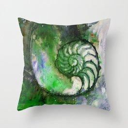 Nature Music No.1B by Kathy Morton Stanion Throw Pillow
