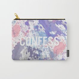 Confess - inverted Carry-All Pouch