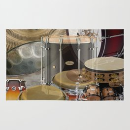 Percussion Instruments Rug
