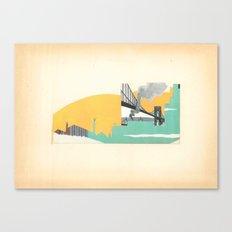 Brooklyn Summer Canvas Print