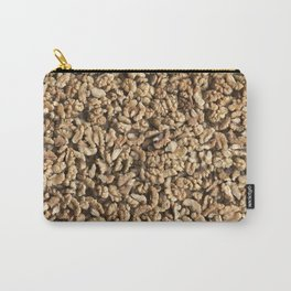 Walnut. Background. Carry-All Pouch