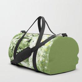 Dream wreck in grunge green kaleidoscope Duffle Bag