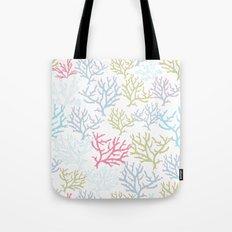 Pink Corals Tote Bag