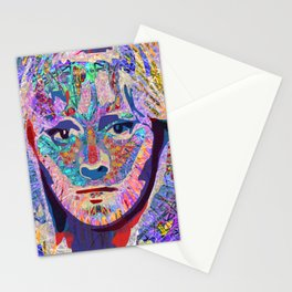 Capable Friend Of The Fifties Film Scream Queen Version Three  Stationery Cards
