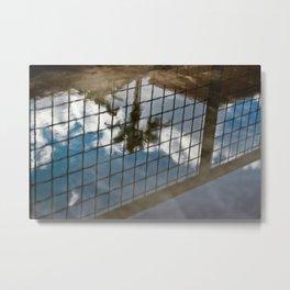 puddles.  Metal Print