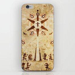 The Reaper War: Destroy Ending - Krogan Mural Art Style iPhone Skin