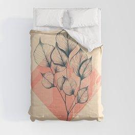 Eucalyptus leaves colors Comforters