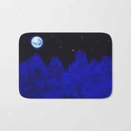 Full moon Bath Mat