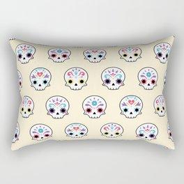 Cute sugar skulls Rectangular Pillow