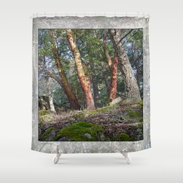 MADRONA WOODS Shower Curtain