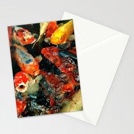 Koi Carps Stationery Cards