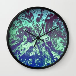 Textured Paper 08 Wall Clock