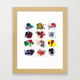 12 daily rituals Framed Art Print