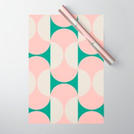 Capsule Cactus Wrapping Paper