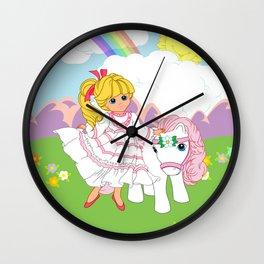g1 my little pony Megan and Sundance Wall Clock