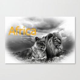 Africa V Canvas Print