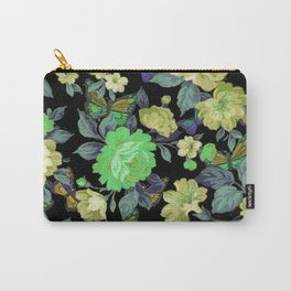 july roses & butterflies Carry-All Pouch