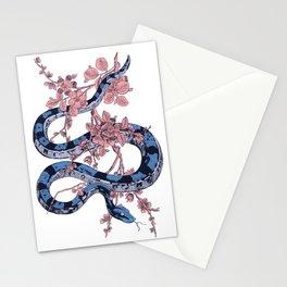 Jungle Snake Stationery Cards