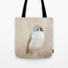 Bird Little Blue Tote Bag