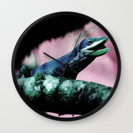 Larry the Lounge Lizard Wall Clock