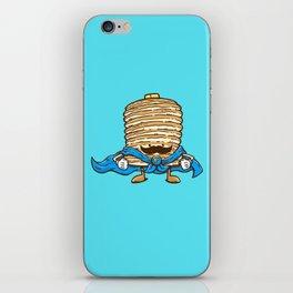 Captain Pancake's Mustache iPhone Skin