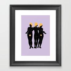 Gracias Framed Art Print