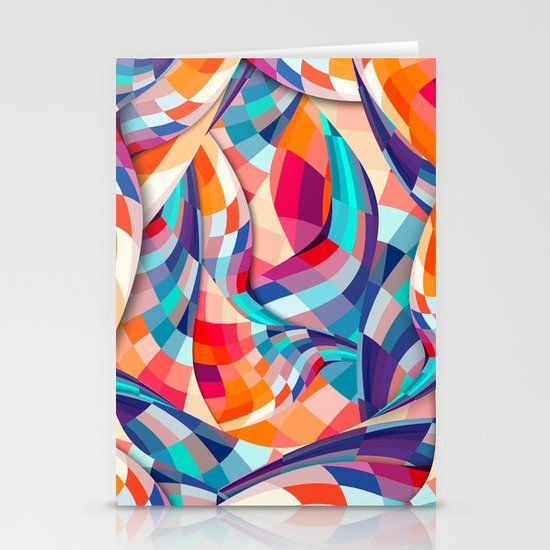 Versicolor Stationery Cards