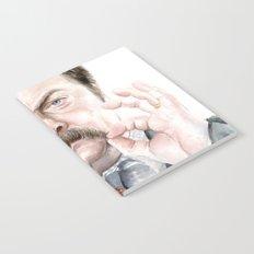 Swanson Mustache Notebook