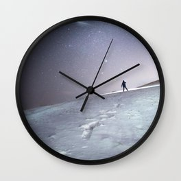 Ice Skies Wall Clock