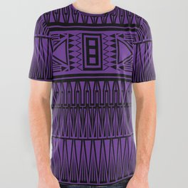 The Gathering (Purple) All Over Graphic Tee