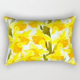 Spring Breeze With Yellow Flowers #decor #society6 #buyart Rectangular Pillow