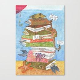 10 storey fish sandwich Canvas Print