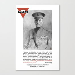 General Pershing -- United War Works Campaign Canvas Print