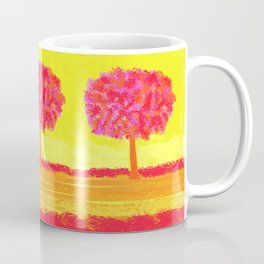 Pink  Tree Coffee Mug